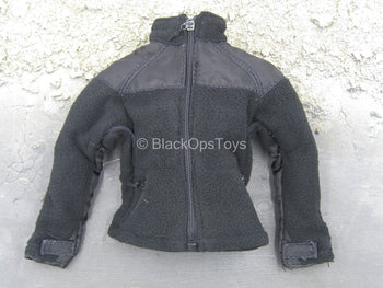 Private Military Contractor - Black Fleece Jacket
