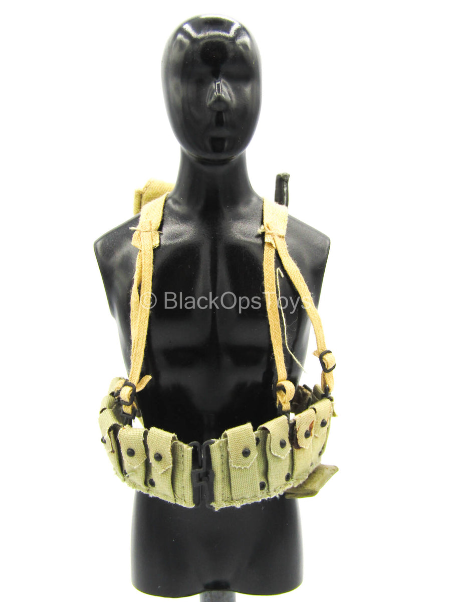 US 5th Marine Infantry Regiment - Tan Ammo Belt w/Backpack