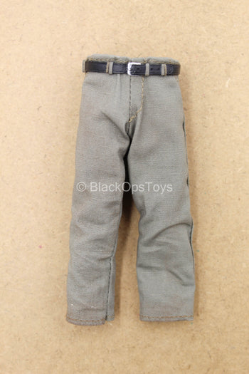 1/12 - Jason Voorhees - Light Grey Pants w/Belt