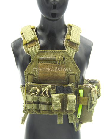 Bravo Six Urban Version - Coyote Tan Assault Plate Carrier Set
