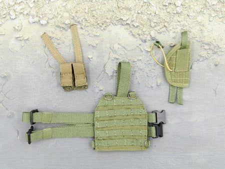 Russian Spetsnaz FSB Alfa Group 3.0 Gorka Version Drop Leg Molle Pistol Holster Set