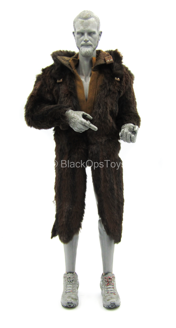 Star Wars - Han Solo - Brown Fur Like Coat