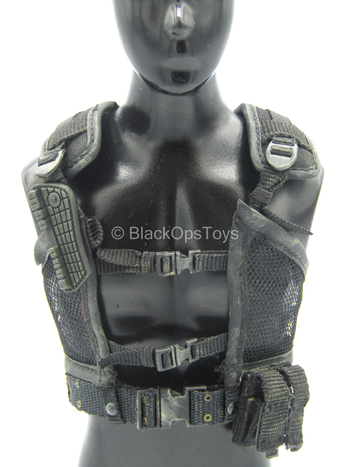 The Terminator - John Connor - Weathered Black Tactical Vest