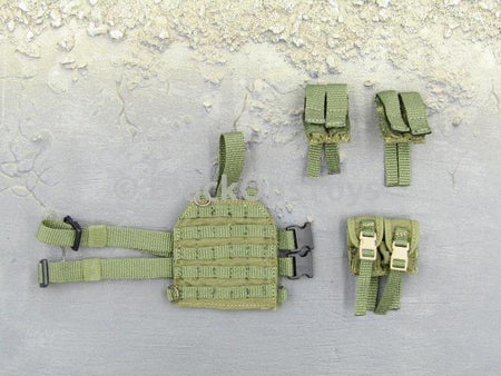 Russian Spetsnaz FSB Alfa Group 3.0 Gorka Version Grenade Drop Leg Pouch Set