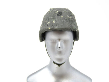 1/6 Scale Urban Camo MICH Helmet w/Real Metal