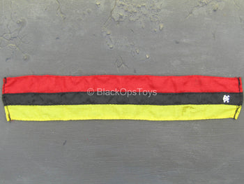 Mike Force - Red, Black, & Yellow Scarf