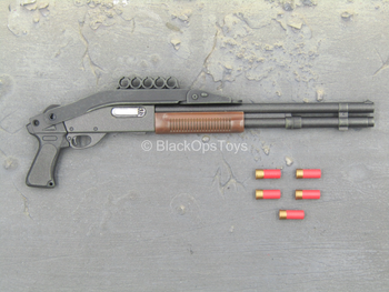 Terminator - Sarah Connor - Black & Brown Shotgun w/Folding Stock