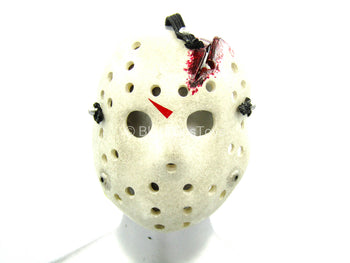 Jason Voorhees - Weathered Hockey Mask w/Bloody Crack