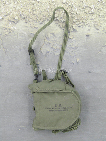 VBSS Team Leader - OD Green MCU 2/P Gas Mask Bag