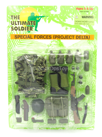 U.S. Special Forces (Project Delta) Set - MINT IN BOX
