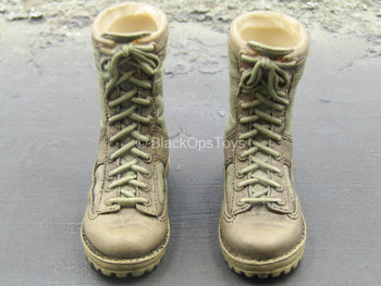 USMC - Tan Molded Boots (Foot Type)