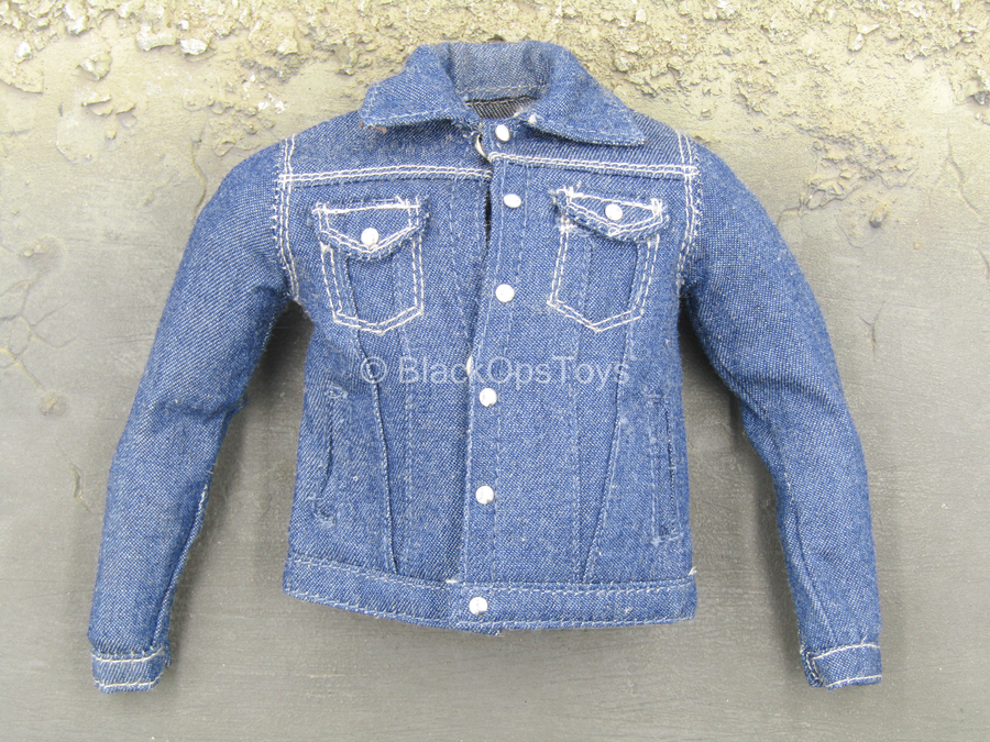 Blue Denim Like Jean Jacket