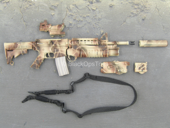 Operation Wed Wings - Camo SOPMOD M4 Assault Rifle w/Attachment Set