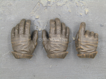 Star Wars - Han Solo - Brown Gloved Hand Set (Type 1)