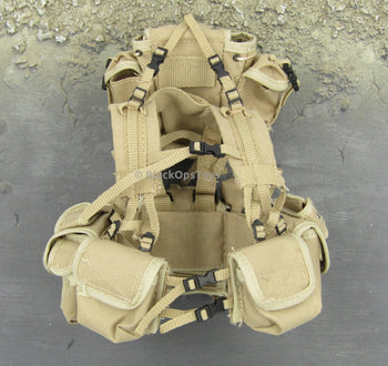 Desert Tan Machine Gunner Vest