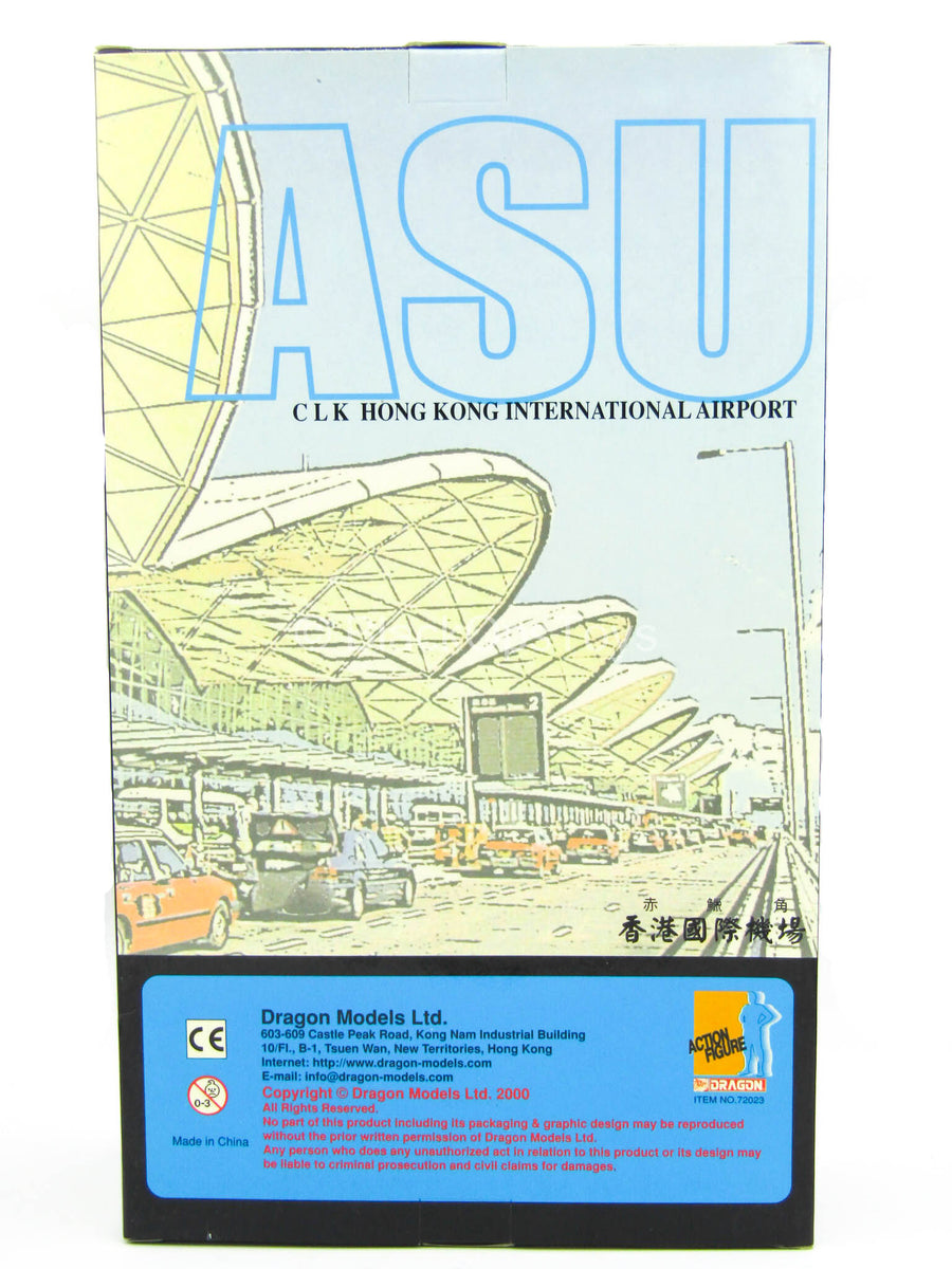 "Hong Kong ASU ""Airport Security Unit"" ""Eddy"" - MINT IN BOX"