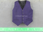 Spiritual Leader - Purple Vest & Pants w/Black Dress Shirt & Tie