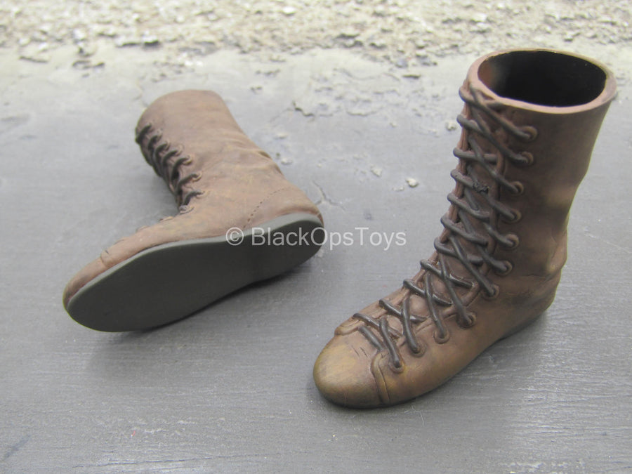 LOTR - Gandalf - Brown Boots (Foot Type)