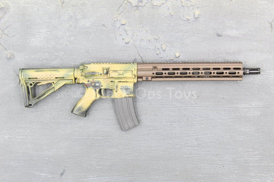 SMU - C.A.G. Breacher - Weathered Camo HK416 Rifle