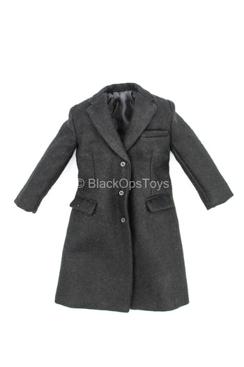 2020 - President Donald Trump - Black Trench Coat