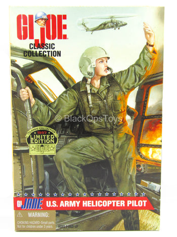 G.I Joe Classic G.I Jane U.S Army Helicopter Pilot - MINT IN BOX