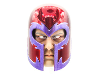 X-Men - Magneto - Male Helmeted Head Sculpt