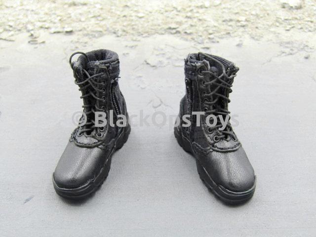 LAPD SWAT 3.0 - Takeshi Yamada - Black Combat Boots Foot Type