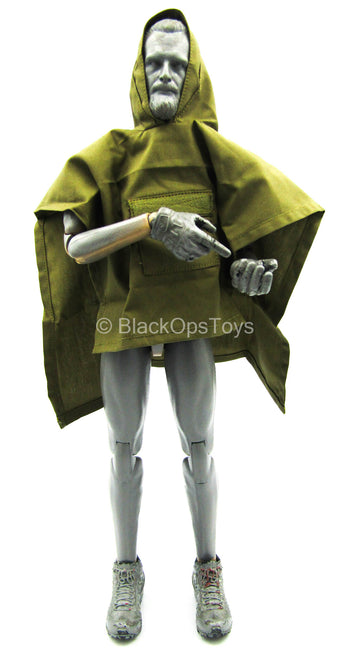 Phantom Modern Version - Green Hooded Poncho