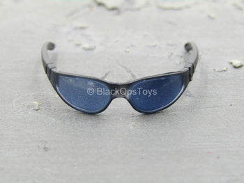 Navy Seal Riverine Ops Rifleman - Black Glasses w/Blue Lens