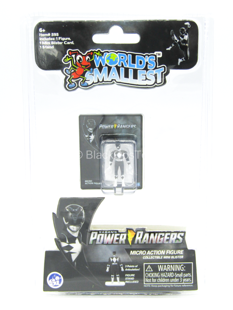 Other Scale - Power Ranger - Black - MINT IN BOX