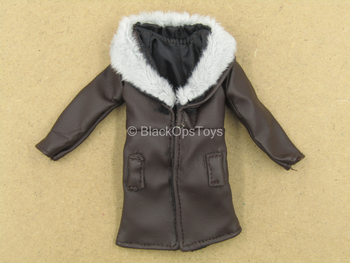 1/12 - Carlo Eduardo - Brown Coat w/Fur Like Collar