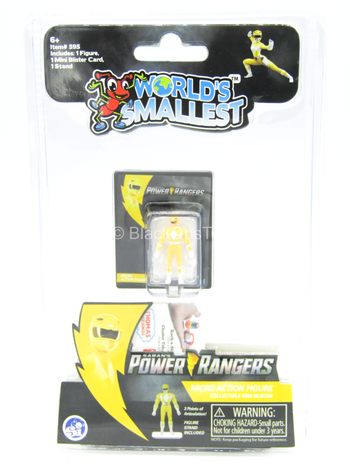 Other Scale - Power Ranger - Yellow - MINT IN BOX