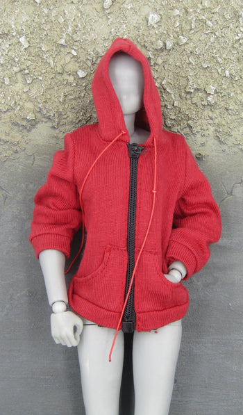 The Last Girl  - Female Red Hoodie (Small)