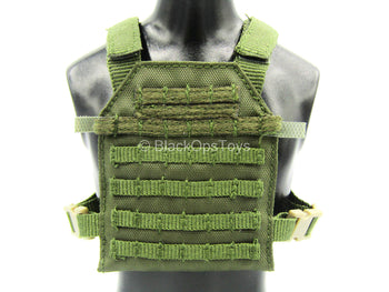 Phantom Modern Version - Green MOLLE Plate Carrier