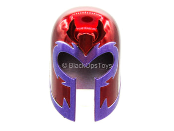 X-Men - Magneto - Red & Purple Helmet