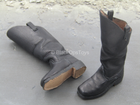 George E. Pickett - Black Leather Like Boots (Foot Type)