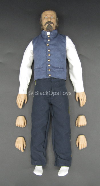 George E. Pickett - Male Base Body w/Military Uniform Set