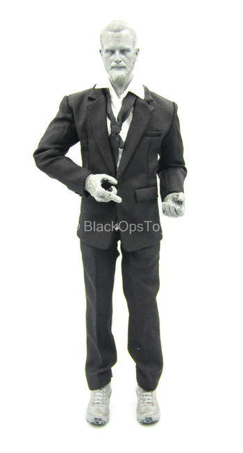 Black Suit Uniform Set