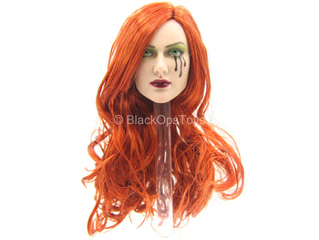 Dawn - Female Head Sculpt w/Red Hair