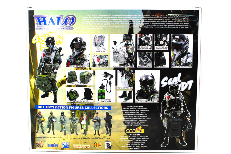 HALO Green Beret - Male Base Body w/Head Sculpt