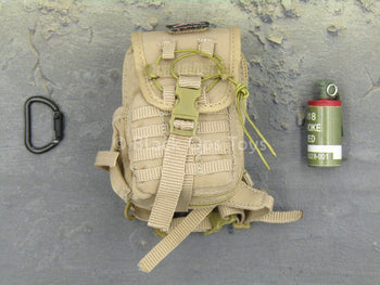Female Shooter - Jungle Python - Tan Back Pack Set
