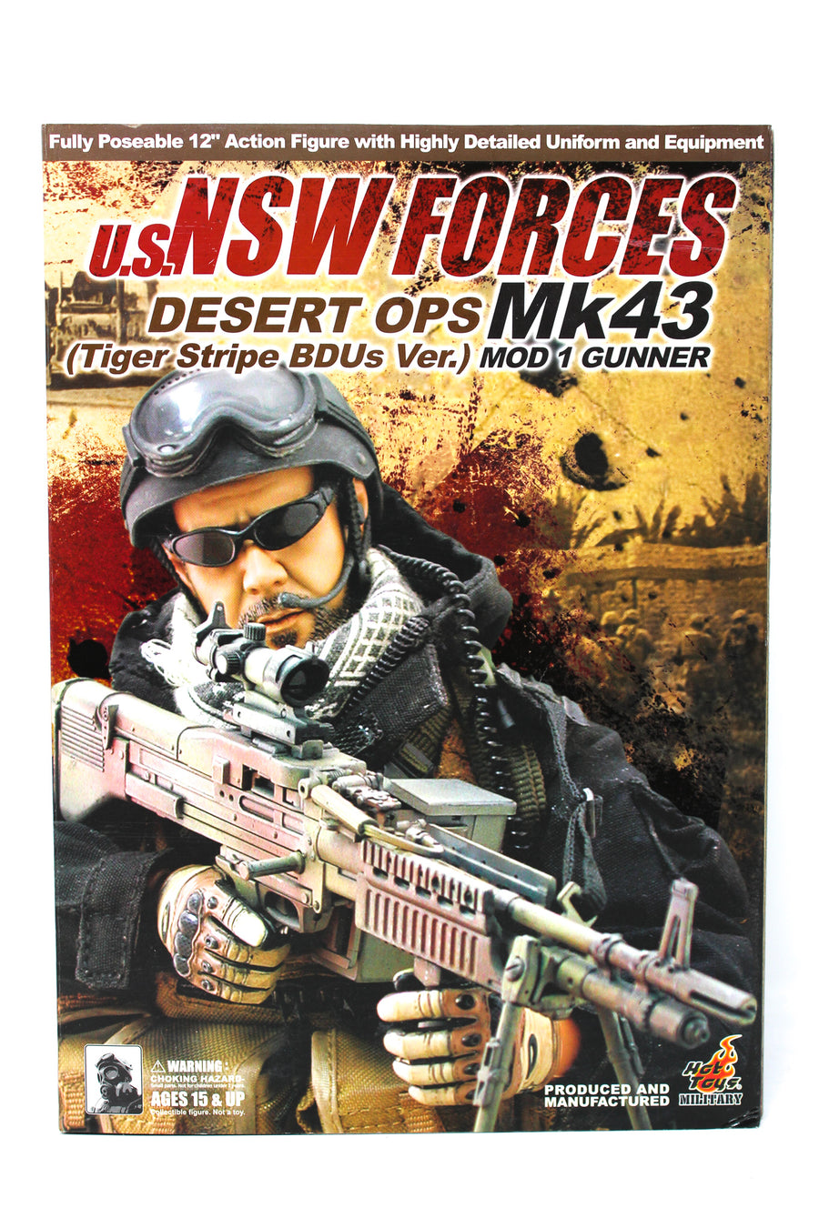 NSW Forces - Desert Ops - White & Black Shemagh