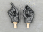 Private Military Contractor - Black Gloved Right Trigger Hand Set