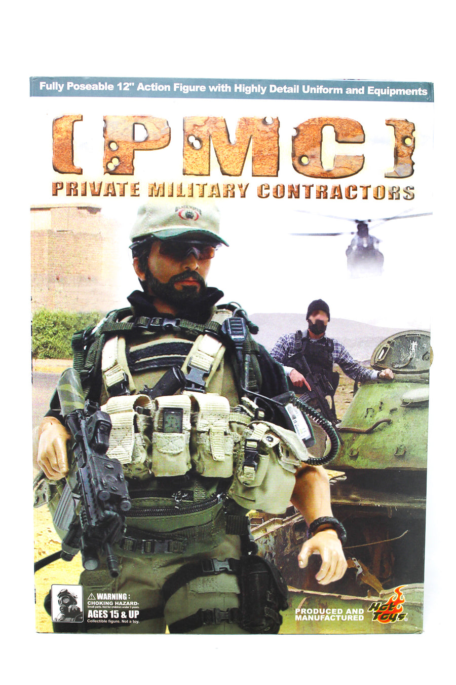 Private Military Contractor - Black Radio w/Hand Mic