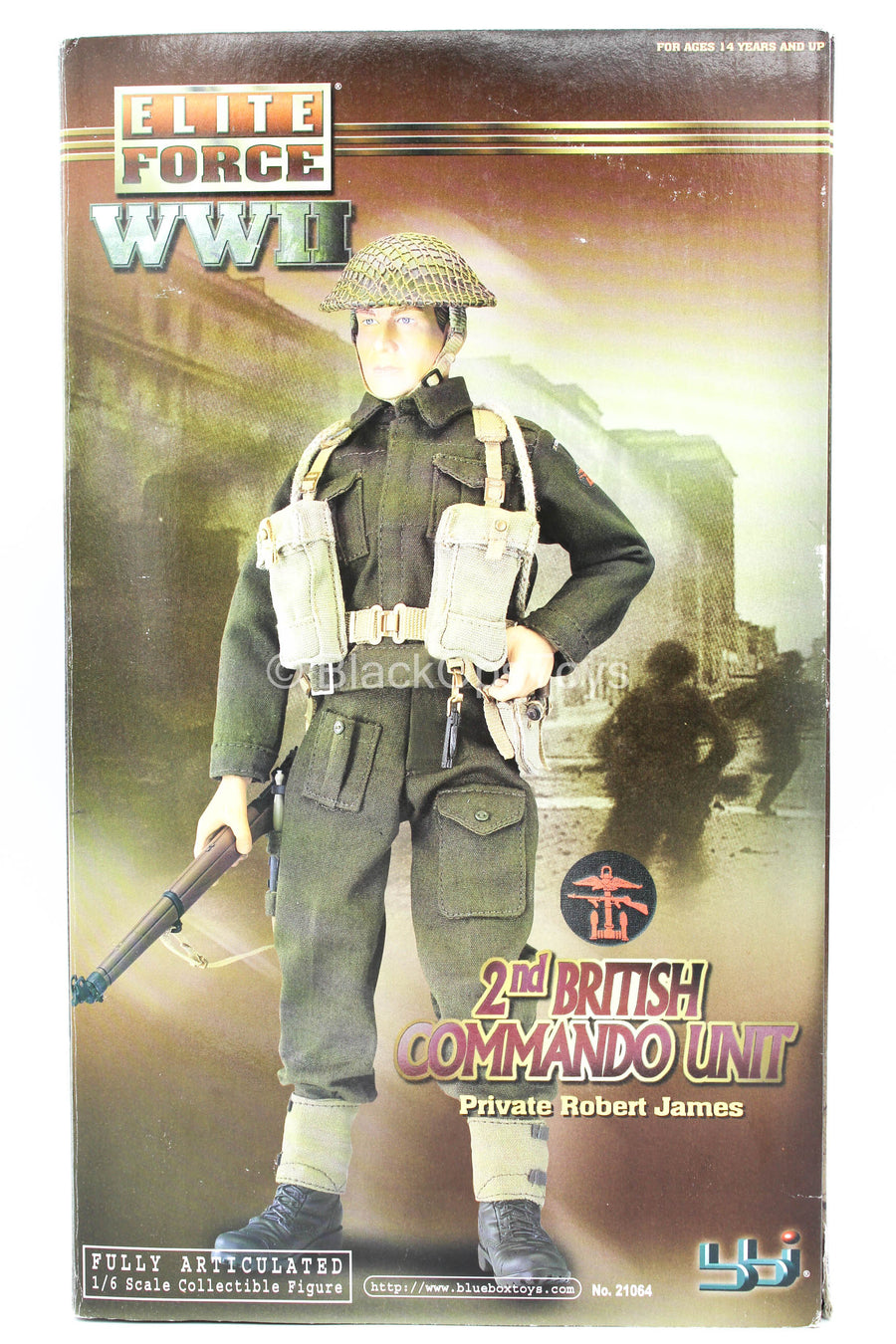 WWII - 2nd British Command - Male Base Body w/Head Sculpt
