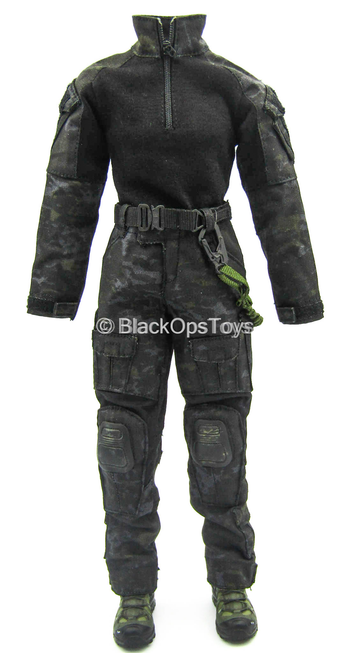 Phantom Black Muticam Version - Black Multicam Combat Uniform Set