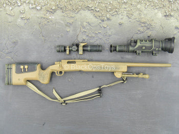 USMC - Sniper - Tan M40 Sniper Rifle w/Attachment Set