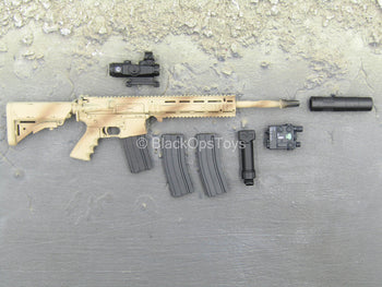 Phantom Modern Version - Desert AR-15 Rifle w/Attachment Set