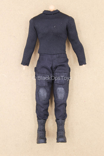 1/12 - The Punisher - Male Base Body w/Uniform Set & Boots