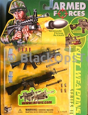IN TOYZ Colt Weapons Series Rifle Set Mint in Box